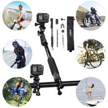 Luxury selfie stick kit for GoPros camera <strong>Mobile</strong> <strong>Phones</strong> and SLR Camera Holder for Bike