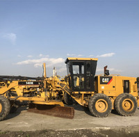 CAT 140K USED MOTOR GRADER GOOD QUALITY LOW PRICE FOR SALE WELL MAINTAINED