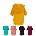 2019 100% cotton dog hoodie pet clothing clothes