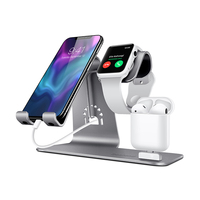 3 In 1 Qi Portable Mobile Phone Charging Station,Smart Watch Wireless Charger