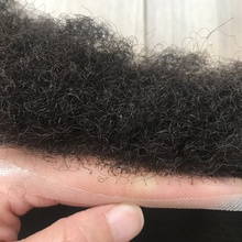 Afro Toupee for Black Men Human Hair All Transparent Lace Man Weave Balding Mens Custom Hair Unit 8x10inch Male Hair 1/1b