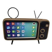 Retro TV Design Smart <strong>Phone</strong> Dock stand with bluetooth speaker for 5.0-6.5inch <strong>mobile</strong> <strong>Phone</strong>