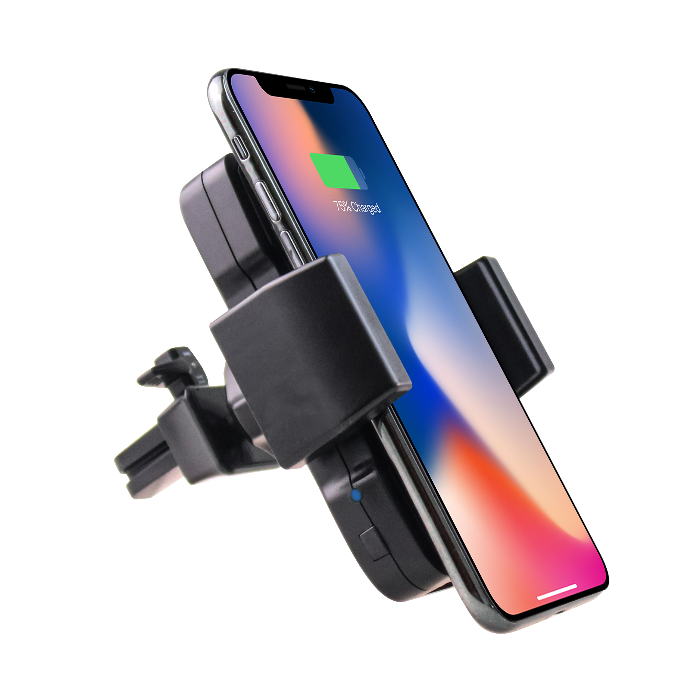 Air vent 10W Qi latest mount phone holder In car fast Wireless charger quick Qi Wireless Charger car mount charging clip