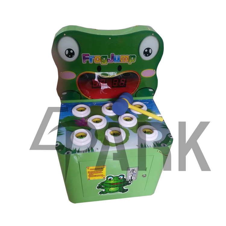 Coin Operated Children Hitting Hammer Whack A Mole Redemption Power Hit hammer arcade game machine