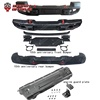 JL 10th Anniversary Front Bumper for Wrangler JL Rear Bumper Engine Guard Offroad 4x4 Accessories