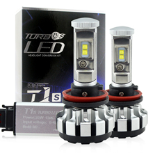 h1 h3 h7 h8 h9 h11 9005 9006 h4 40w 4000lm t1s led car headlights pk v16 Turbo 3600LM 4800lm LED Headlights