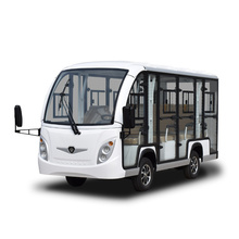 72v 11 seats tourist Car with enclosed hard door for scenic using