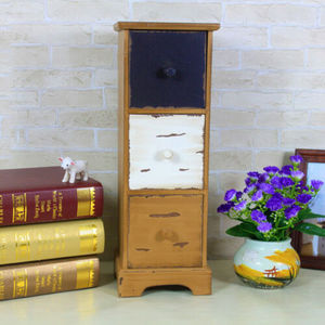2019 new products vintage style furniture wood makeup jewelry organizer cabinet for Living room