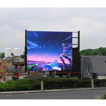 Outdoor led sign p16 led big advertising display high resolution led board
