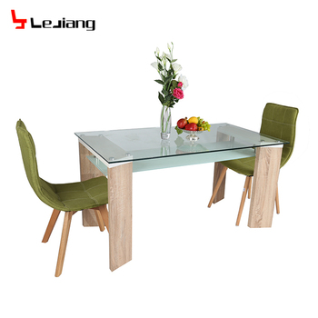 Free Sample Solid Wood 10 Seater Granite Top Royal Walnut Expandable 12 Tempered Glass Dining Table Set For 4