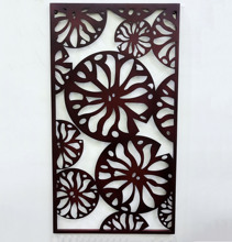 Laser cutting piece metal home wall decor <strong>sakura</strong>
