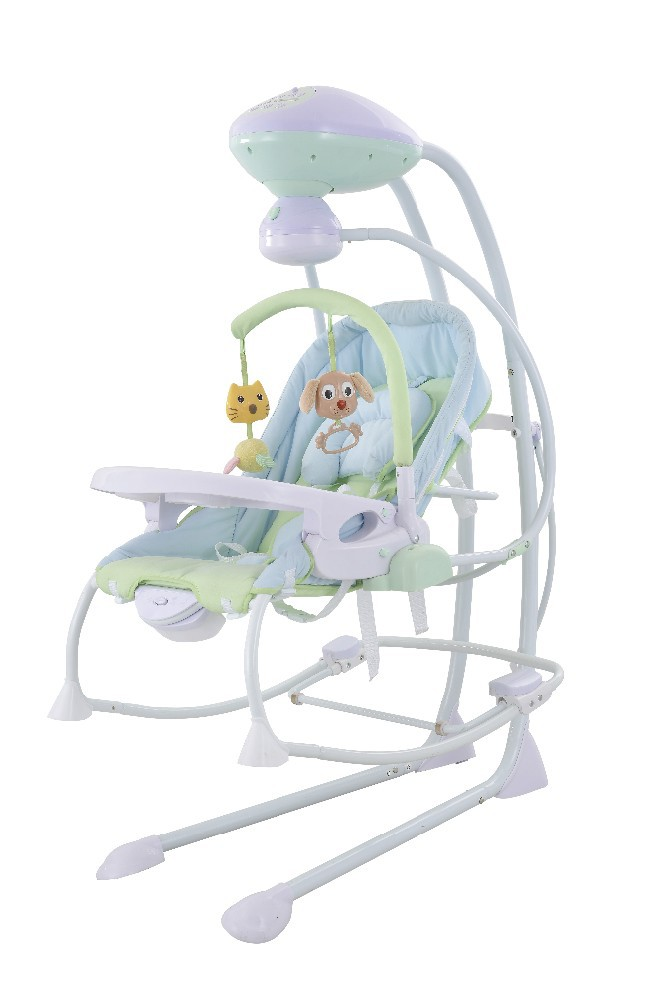 3 IN 1 electric baby rocking crib