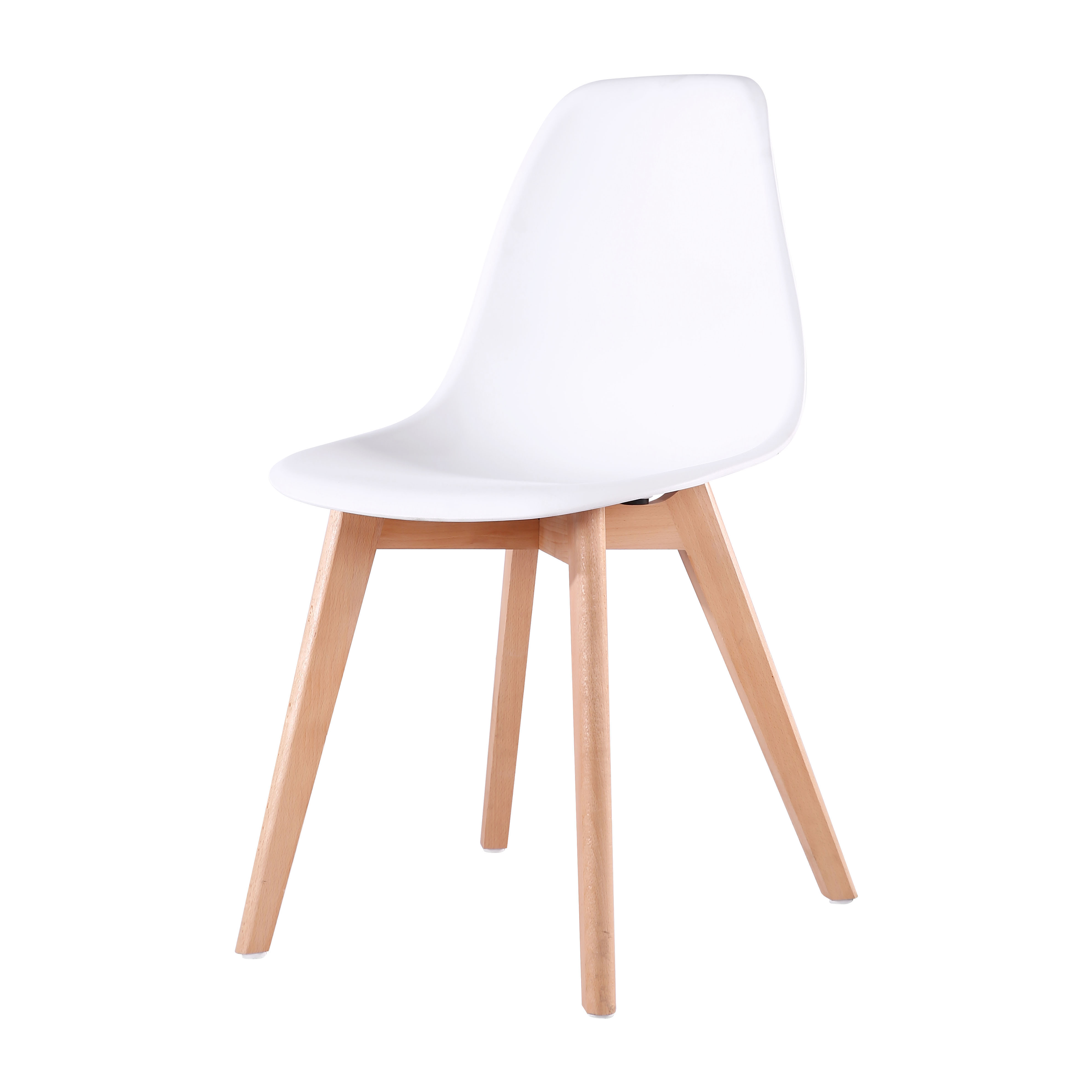 Fine Modern Dinning Chair Wooden Legs Plastic Dinner Kitchen Dining Chairs For Sale