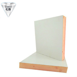 Color steel phenolic foam insulation board air duct plate