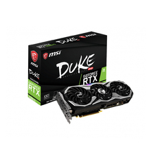 MSI NVIDIA GEFORCE RTX2080 TI DUKE 11G OC GDDR6 14Gbps Game Graphics <strong>Card</strong>