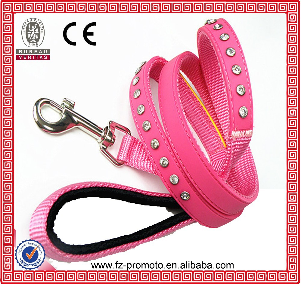 High Strength Custom Design Fabric Dog Leash Supplier