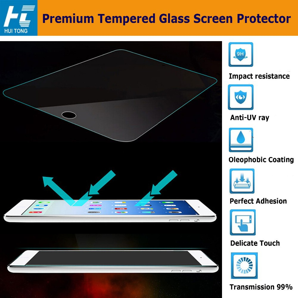 Full cover tempered glass screen protector for Surface Book, 9H hardness 0.33mm HD clear tempered glass