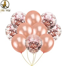 pack of <strong>12</strong> confetti Balloons, Party decoration latex balloon wedding decoration