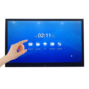 Customized Interactive Touch Screen 32 42 46 55 Inch HD LCD Interactive Stand/Wall Mount Touch Panel