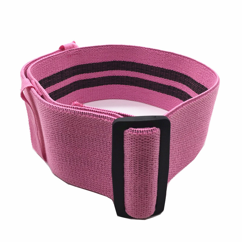Hot Selling Adjustable Hip Band Customized Logo And Color Latex <strong>Resistance</strong> Band Anti Slip Booty Training Exercise Band