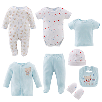 whosale newborn baby clothes romper gift set 8pcs baby clothing set china