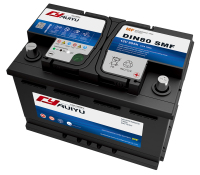 DIN75-SMF lead acid car batteries delco automotive battery