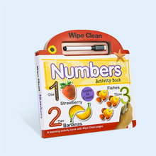 2020 Special Shape Children's Wipe And Clean Board <strong>Book</strong>