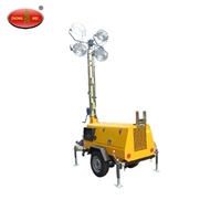 Rechargeable Portable LED electric light Construction Mobile light tower