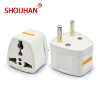Universal travel plug adaptor Germany/Europe standard convert socket 2 pin for mobile phone charging
