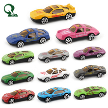 Toy Vehicle Simulated Racing Car Alloy Die Casting Vehicle 12 in 1 Set