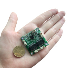 YN-S10401 38*38mm mini 4port <strong>10</strong>/100mbps data switch ethernet pcb module for embedded <strong>system</strong> data switching