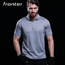 100% Poliéster Dry Fit Camisa Polo Hubei Golf Polo Camisa