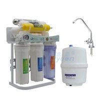 Taiwan Patent Home reverse osmosis systems with 8 stages UV Alkaline drinking water purifier