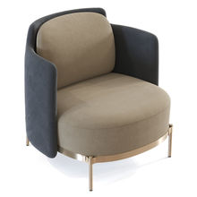 Luxury Leisure Single Sofa Chair Modern Negotiation Chair armchair Tape Designer <strong>Furniture</strong> by fabric
