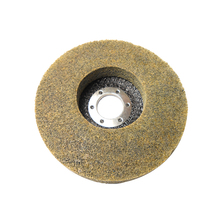 non-woven abrasive flap wheel disc angle grinder disc for polishing and finishing pexcraft