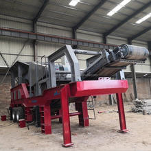 portable stone crusher machine for portable crushing plant