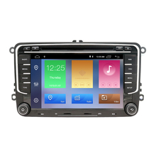 "ZYCGOTEV 7 ""2 Din Android 9.0 Car Audio Video Player Per VW GOLF 6 Polo Bora JETTA B6 PASSAT tiguan SKODA OCTAVIA Lettore Stereo"