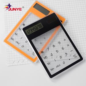 Cheap Plastic Promotion Fancy Smart Printing Mini Solar Pocket Calculator