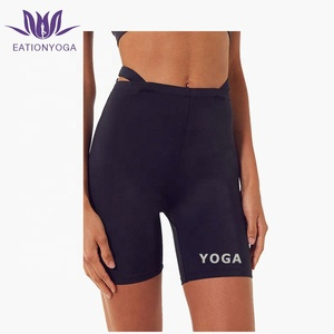 2019 Sexy high waist compression yoga shorts for women