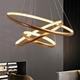 chinese modern for high 3 rings ceiling light chandelier