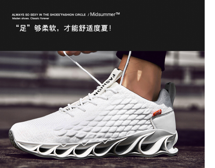 Blade Men's Shoes Summer 2019 New Soldier's Summer Men's Damper Shoes Breathable and Wolf Shoes