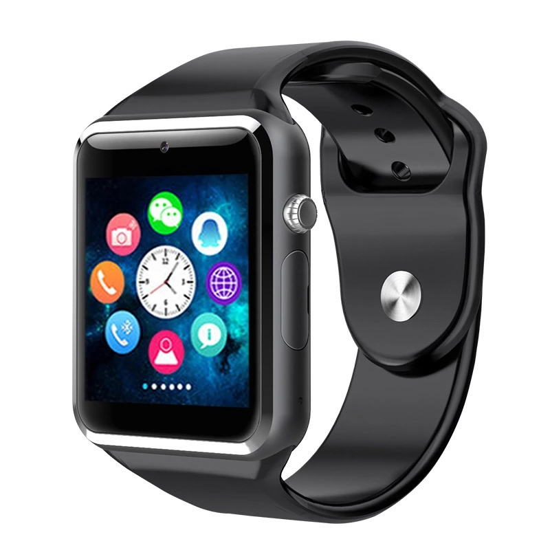 Men Women Smartwatch Phone Support SIM Card Bluetooth Smart Watch <strong>A1</strong> With Camera Pedometer Sport Tracker for IOS Android