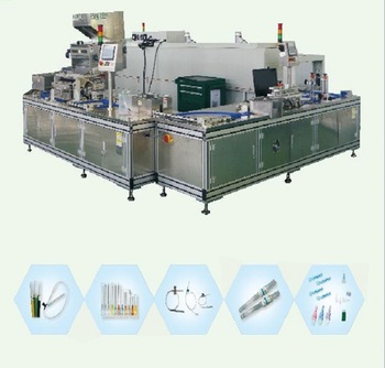 Hypodermic Needle Assembly Machine