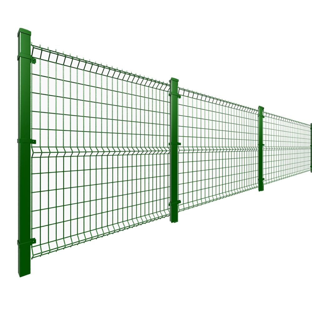 ECO Friendly decorative PVC coated welded wire mesh fence,welded garden fence,3 <strong>D</strong> curved wire mesh fence