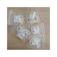 Free Sample Wholesale OEM High Quality Water Stop Plastic Hose Clip, Tubing Pinch Robert Clamp