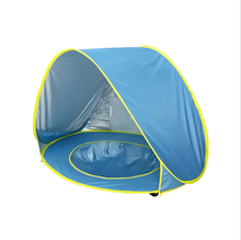 W0037 Baby Beach <strong>Tent</strong> With Pool UPF50+ Pop Up Sun Shade