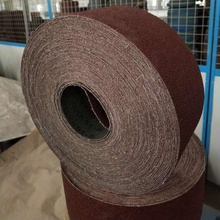 100mm*50m Red aluminium oxide abrasive cloth rolls factory