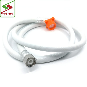 Good price Customized PVC Inlet Water Pipe for Washing Machine Parts/Hand Shower Hose PVC Plumbing Hoses Inlet Pipe
