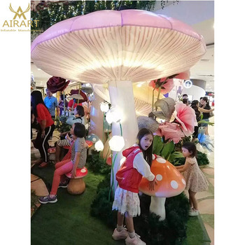 alice in the wonderland theme party inflatable mushroom balloon