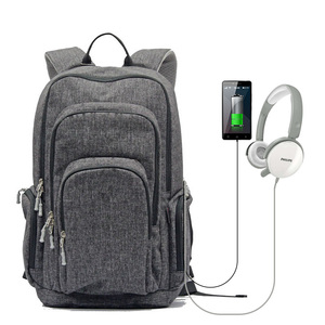 NEW notebook travel business backpack with usb laptop compartment